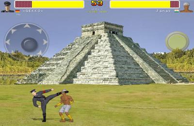 Screenshot Karate Straßenkämpfer 2 Online auf dem iPhone