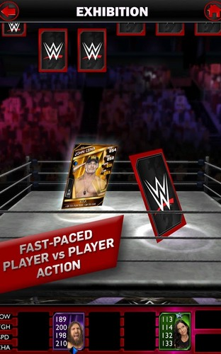WWE Super сard para Android