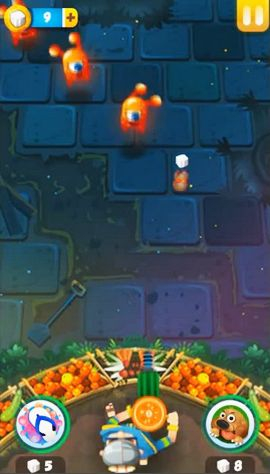 Juegos de arcade Dadi vs jellies para teléfono inteligente