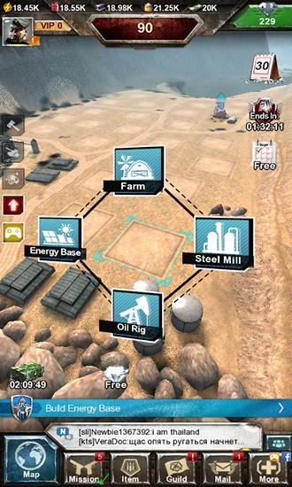 Invasion: Online War Game captura de pantalla 1