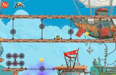 Screenshot Goldener Ninja Pro auf dem iPhone