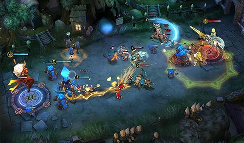 Arenakämpfe Guardians arena auf Deutsch