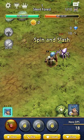 RPG Brave battle pour smartphone