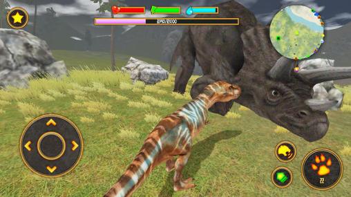 Simulation Clan of T-Rex für das Smartphone