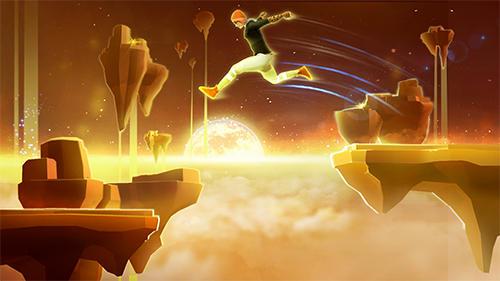 Action Sky dancer: Parkour freerunner für das Smartphone