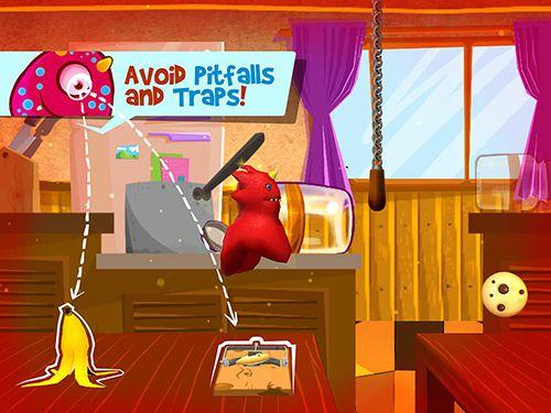 Jogos de arcade: faça o download de Corrida de comilões de biscoitos para o seu telefone