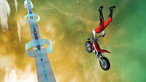 Rennspiele Hill bike galaxy trail world 3 für das Smartphone