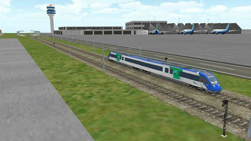 截图Train sim builder在iPhone