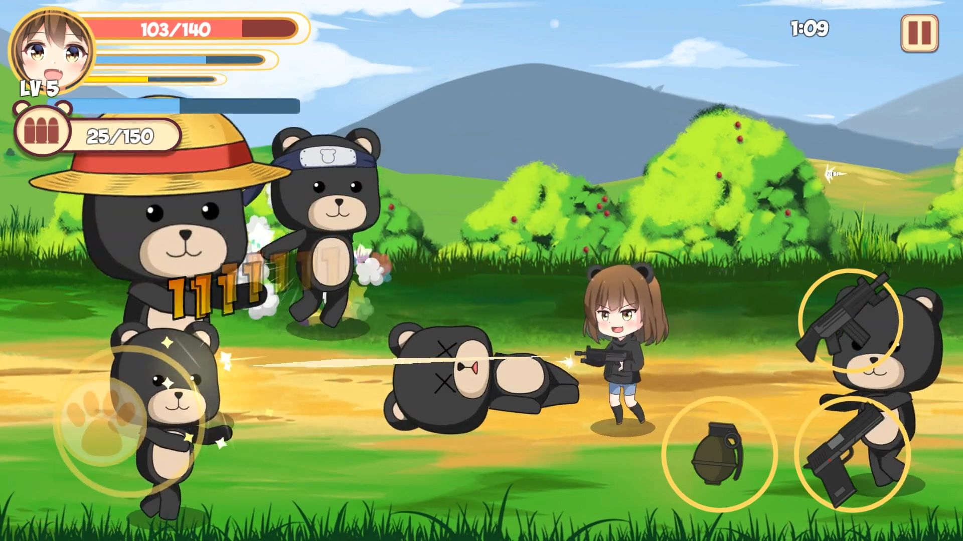 Pandaclip: The Black Thief - Action RPG Shooter für Android