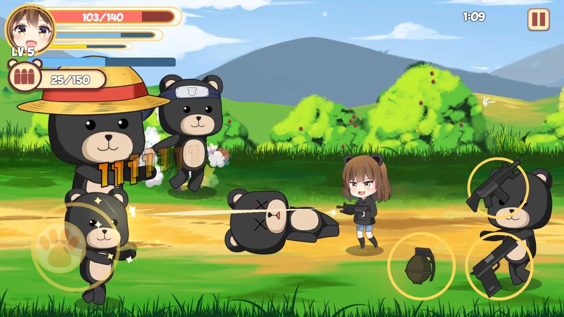 Pandaclip: The Black Thief - Action RPG Shooter para Android
