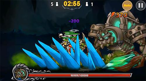 Strategische RPG-Spiele God of Era: Epic heroes war auf Deutsch