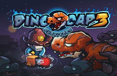 логотип Обстрел Динозавров 3 Остаться в живых