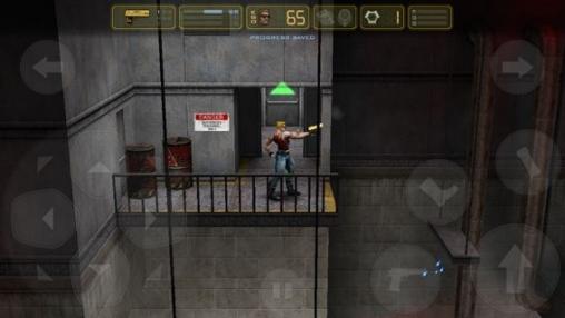 Screenshot Duke Nukem: Manhattan Projekt auf dem iPhone