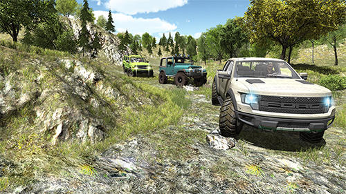 4x4 offroad jeep mountain hill screenshot 4