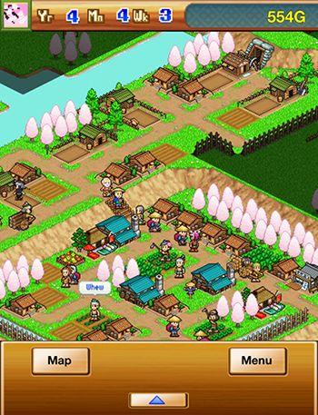 Strategie Ninja village für das Smartphone
