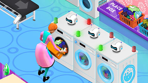 My laundry shop manager: Dirty clothes washing für Android