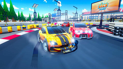Rennspiele Drive and drift: Gymkhana car racing simulator game für das Smartphone