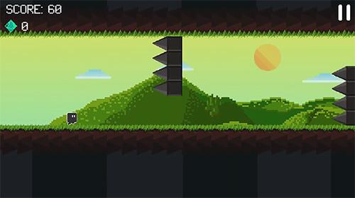 Arcade-Spiele Gravity dash: Endless runner für das Smartphone