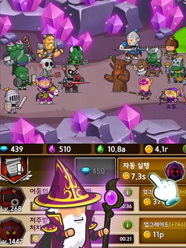RPG-Spiele Infinity mercs: Nonstop RPG für das Smartphone
