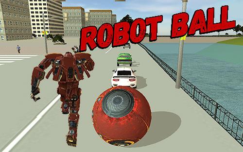 Robot ball Screenshot