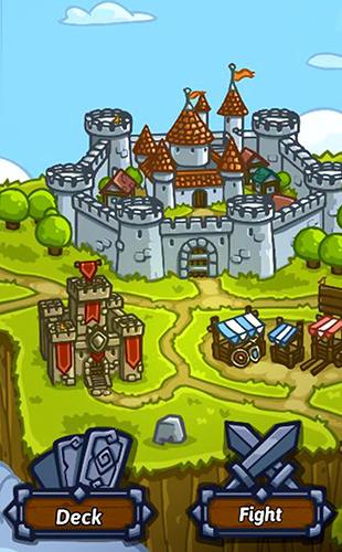 RPG-Spiele Bridge battles: Tactical card RPG für das Smartphone
