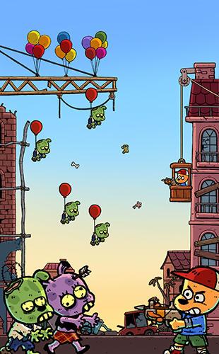 Zombiespiele Invader Z: The rise of zombies auf Deutsch