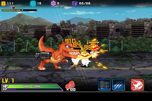 Dinobot: Tyrannosaurus für Android