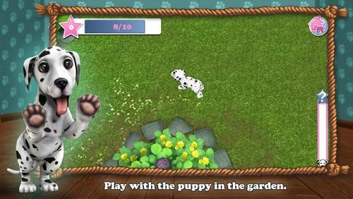 Spiele über Feiertage Christmas with dog world auf Deutsch