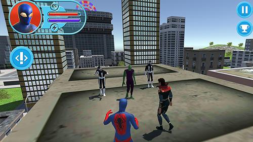 Jogos de super-heróis Strange hero: Future battle em portugues