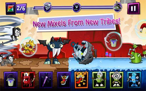 Arcade-Spiele: Lade Mixels Rush auf dein Handy herunter