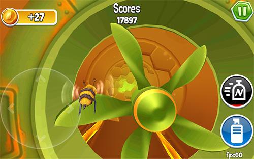 Arcade bugs fly für Android