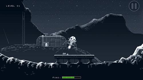Arcade-Spiele Lunar mission für das Smartphone