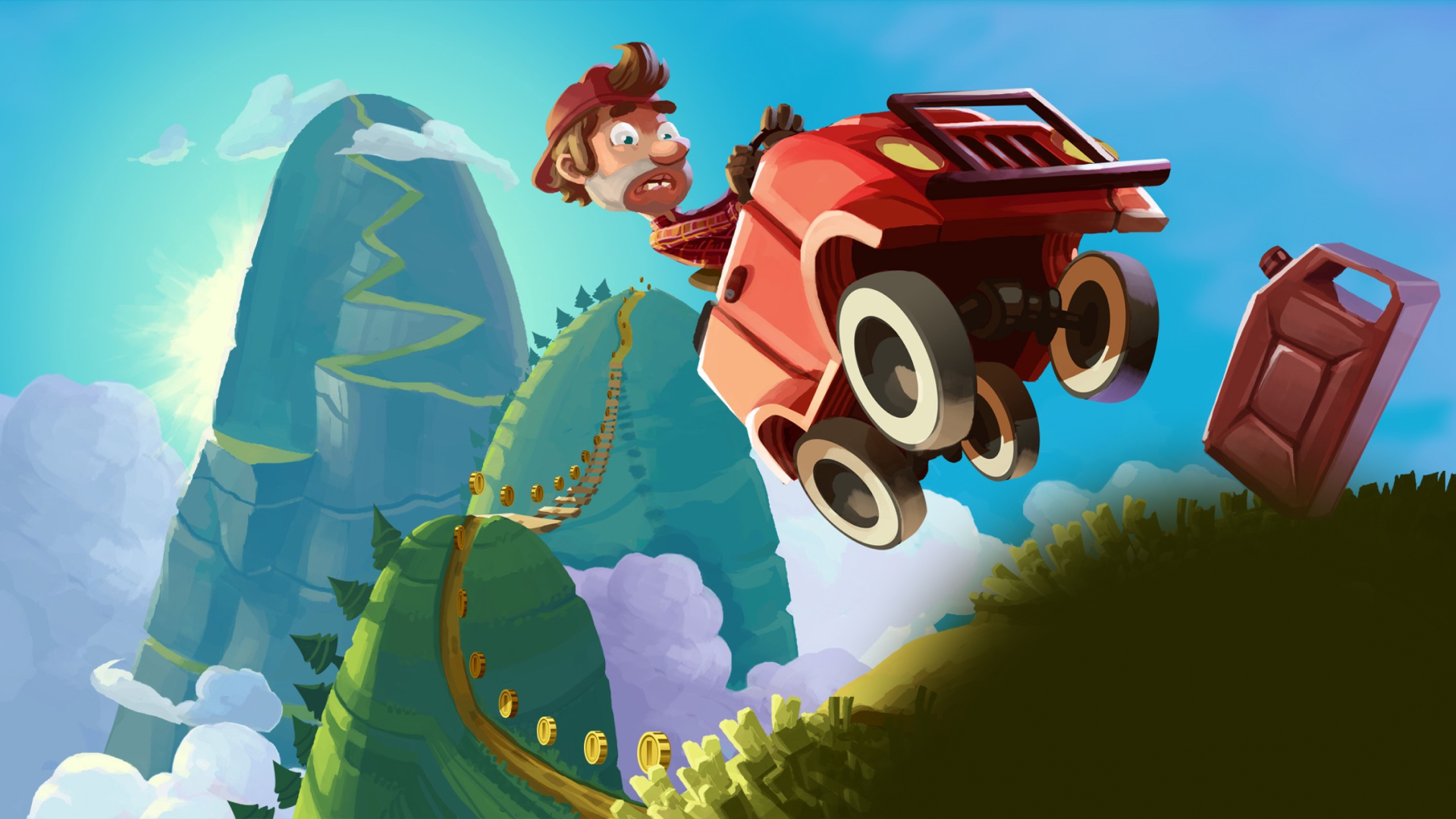 free Hill racing games