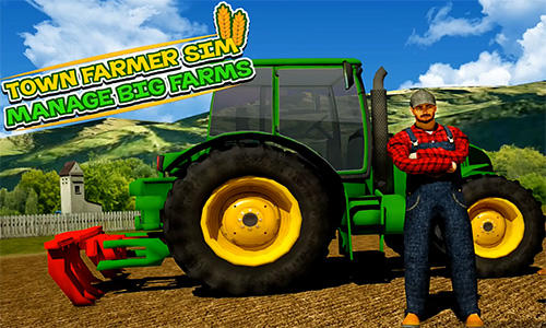 Town farmer sim: Manage big farms скріншот 1