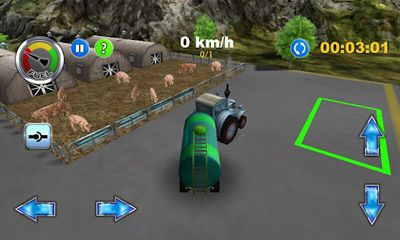 Tractor Farm Driver pour Android