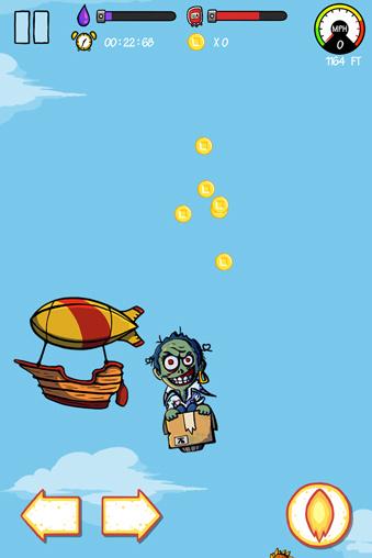Les Zombies libérés:l'aventure de vol
