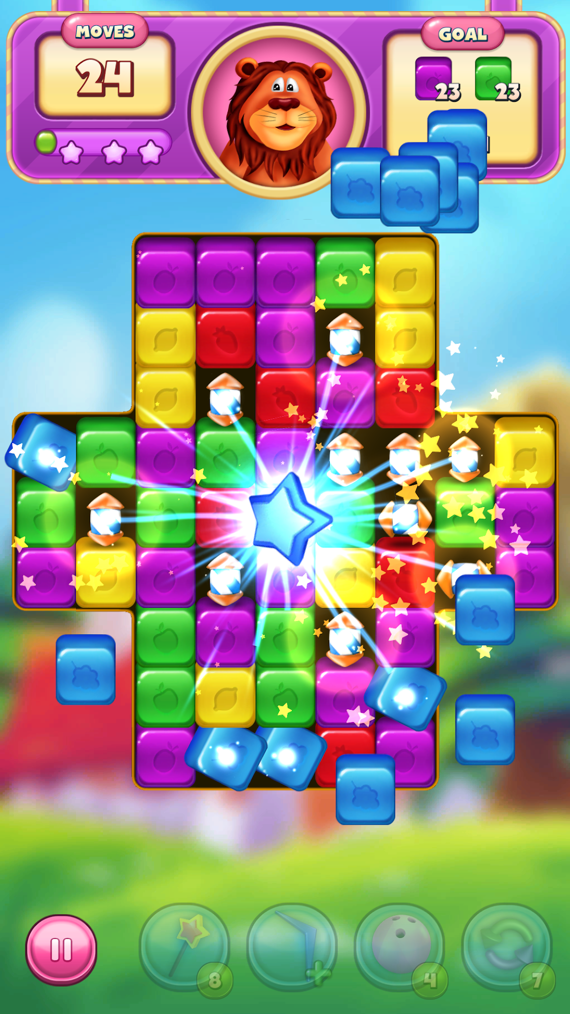 Cartoon Crush: Blast 3 Matching Games Toon Puzzle screenshot 3
