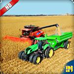 Real tractor farming sim 2017 Symbol