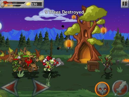 Strategie RPG Monster wars auf Deutsch
