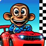 Monkey racing ícone