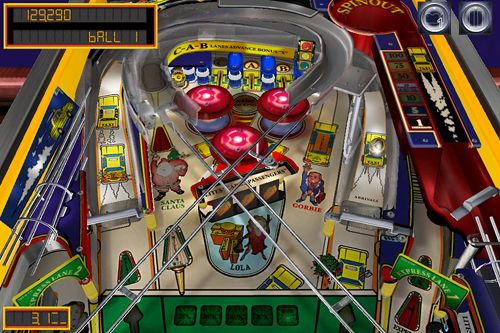 Screenshot Pinball Arcade auf dem iPhone