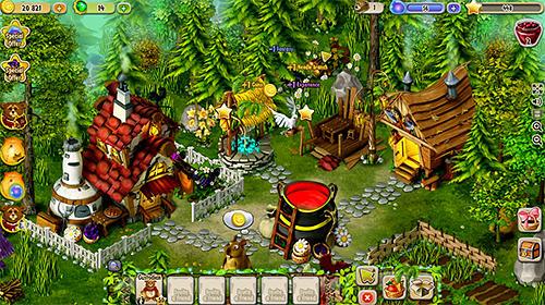 Fantasy garden auf Deutsch