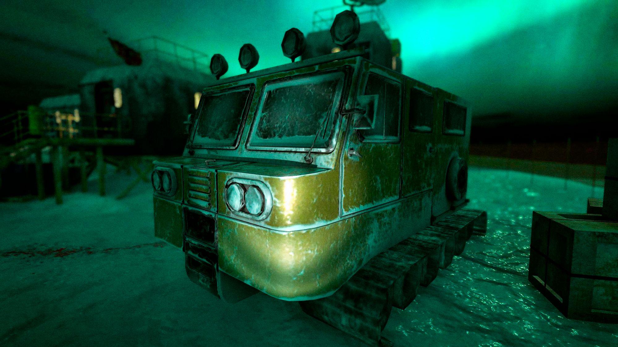 Antarctica 88: Scary Action Survival Horror Game captura de pantalla 1