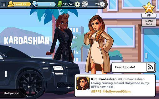 Simulateurs Kim Kardashian: Hollywood pour smartphone