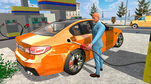 Car simulator M5 screenshot 1