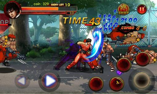 King of kungfu: Street combat für Android