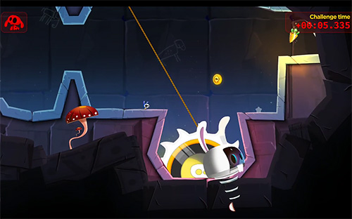 Space rabbits in space für Android