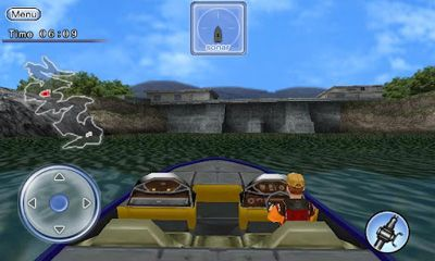 Bass Fishing 3D on the Boat in English
