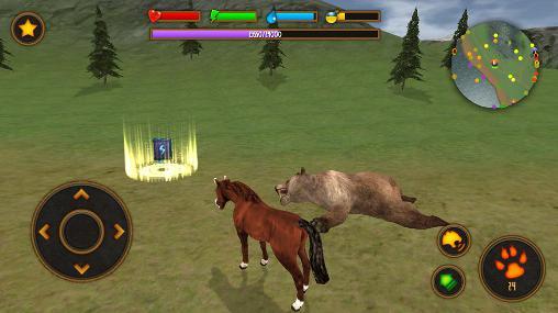Simulation Clan of horse für das Smartphone