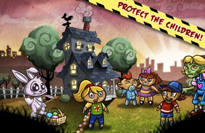 Arcade games: download Zombie Scramble to your phone